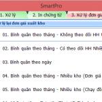 Hướng dẫn xử lý đơn giá xuất kho trên phần mềm kế toán Smart Pro 5.0